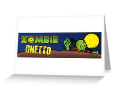 ZOMBIE GHETTO OFFICIAL ARTWORK DESIGN T-SHIRT Greeting Card