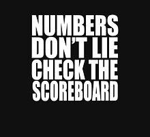 Jay-Z - NUMBERS DON'T LIE CHECK THE SCOREBOARD Unisex T-Shirt