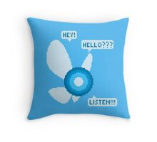 Navi pixel art Throw Pillow