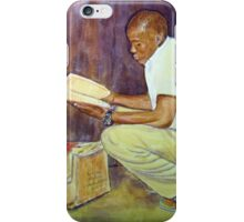 Leon and the Red Book iPhone Case/Skin