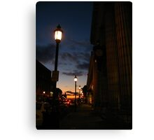 One Itty Bitty Star at Dusk Canvas Print