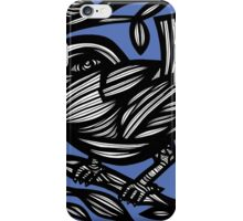 Smigiel Bird Blue White iPhone Case/Skin