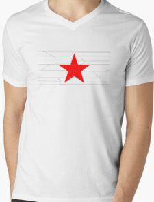 The winter soldier Mens V-Neck T-Shirt