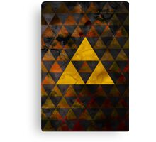 Geometric Ganondorf Canvas Print