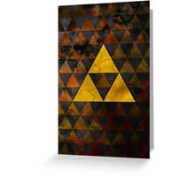 Geometric Ganondorf Greeting Card