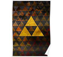Geometric Ganondorf Poster