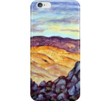 Desert Valley Rock iPhone Case/Skin