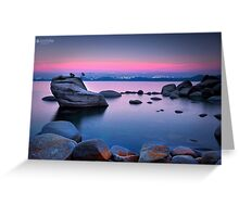 Lake Tahoe - United States Landscape Greeting Card