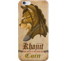 Khajiit has wares iPhone Case/Skin
