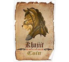 Khajiit has wares Poster