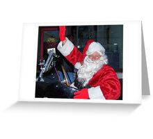 Helllooo SANTA! Greeting Card