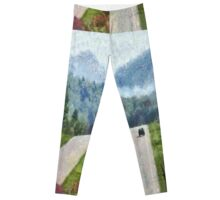 Ride On Into Franklin On The Merle Dryman Parkway Leggings