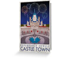 Experience Hyrule Castle Town Greeting Card