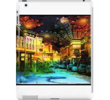 Small Town Saturday Night iPad Case/Skin