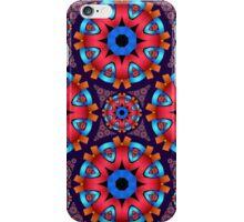 Colourful circles mandala iPhone Case/Skin