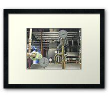 Gauges Framed Print