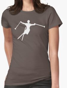 ski : silhouettes Womens Fitted T-Shirt