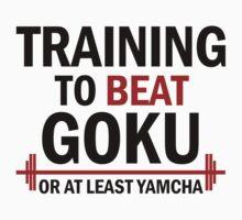 Training to beat Goku by TaoSan