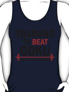 Training to beat Goku T-Shirt