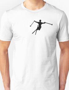 ski : powder trail Unisex T-Shirt