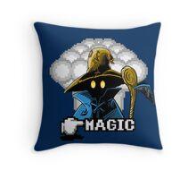 Black Mage Throw Pillow