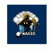 Black Mage Art Print