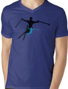 ski : shadowstance Mens V-Neck T-Shirt