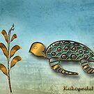 The Metal Aquarium  Turtle by KOKOPEDAL