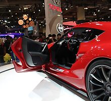 Toyota FT1 Concept Side and Interior view by MunPhotography