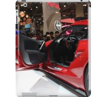 Toyota FT1 Concept Side and Interior view iPad Case/Skin