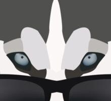 Cool Husky Sticker