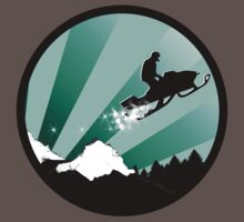 snowmobile : powder trail T-Shirt