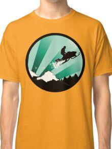 snowmobile : powder trail Classic T-Shirt