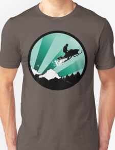 snowmobile : powder trail T-Shirt