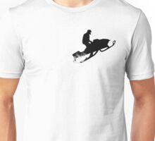snowmobile : powder trail Unisex T-Shirt