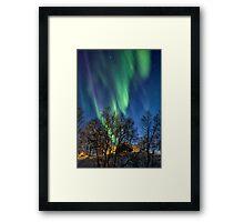 A Rain of Lights Framed Print