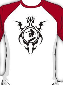 skatboard tribal T-Shirt