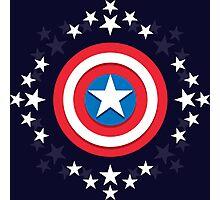 Captain America Stars - V.01 Photographic Print