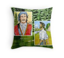 Meet Jacques and Pierre Throw Pillow