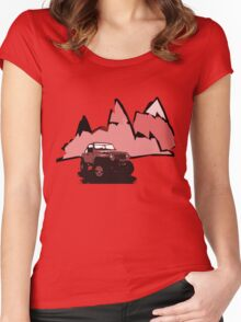Jeeping It!: RED Women's Fitted Scoop T-Shirt
