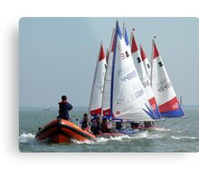 JDP Training at Bradwell Metal Print