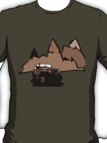 Jeeping It!: BROWN T-Shirt