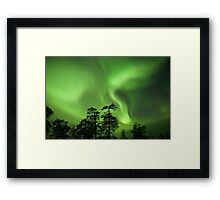 St Patrick's Day Party in the Sky Framed Print