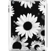 Daisies, Black and White iPad Case/Skin
