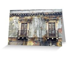 Sicilian Facade Greeting Card