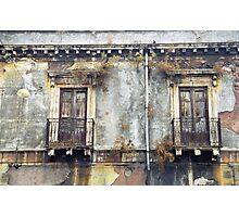 Sicilian Facade Photographic Print