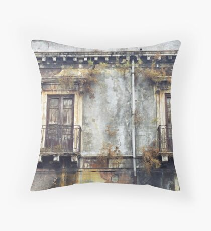 Sicilian Facade Throw Pillow