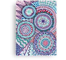 Color Machine Canvas Print