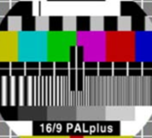 TV Test Pattern  - Philips PM5644 Sticker