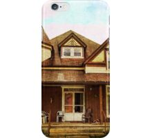 Historical mansion iPhone Case/Skin